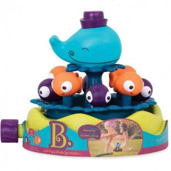 Zabawka ogrodowa Zraszacz Wieloryb z rybkami, B.Toys