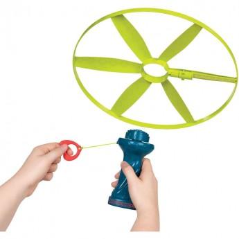 Latające śmigło - dysk z kolorowym światłem, B.Toys