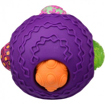 Ballyhoo fioletowa kula sensoryczna z piłkami, B.Toys