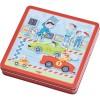 Haba układanka magnetyczna Wyścigówki dla dzieci +3
