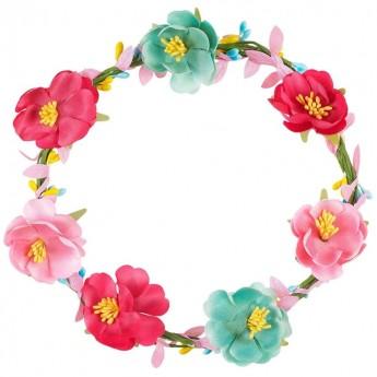 Zestaw do robienia opaski z kwiatami dla dzieci, Souza!