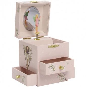 Duża szkatułka z pozytywką Baletnica Kwiat Wiśni, Trousselier