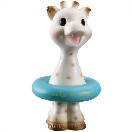 Żyrafa Sophie w kółku ratunkowym zabawka do kąpieli dla niemowląt