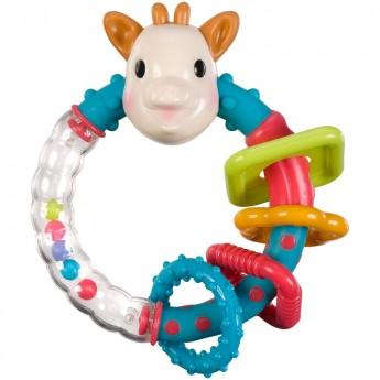 Żyrafa Sophie sensoryczna grzechotka i gryzak +0mc