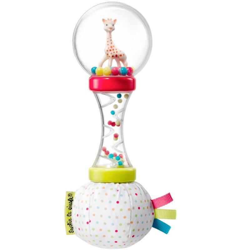 Żyrafa Sophie Miękka grzechotka marakas dla niemowląt