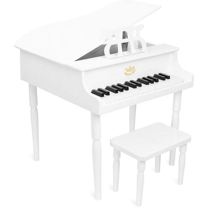 Vilac fortepian drewniany biały
