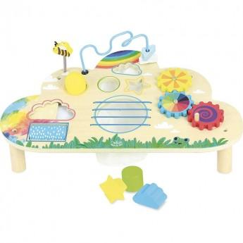 Vilac tęczowy stolik interaktywny dla dzieci od 18 mc