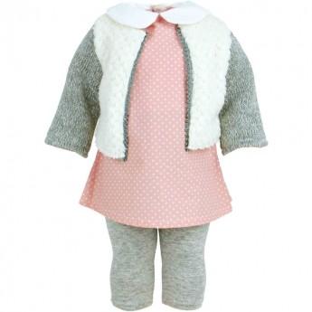 Ubranka dla lalek 40cm wzór Orsay, Petitcollin