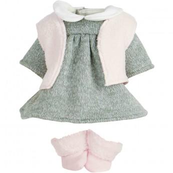 Ubranka dla lalek bobas 28cm wzór Lea, Petitcollin