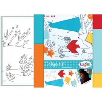 Origami dla dzieci +7 Scenka na Dnie Morza, Aladine
