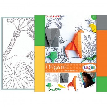 Origami dla dzieci +7 Scenka na Safari, Aladine