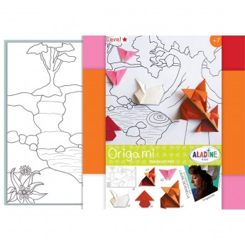 Origami dla dzieci +7 Scenka w Lesie, Aladine