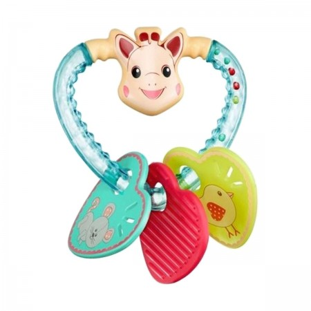Żyrafa Sophie Grzechotka serce zabawka dla niemowląt