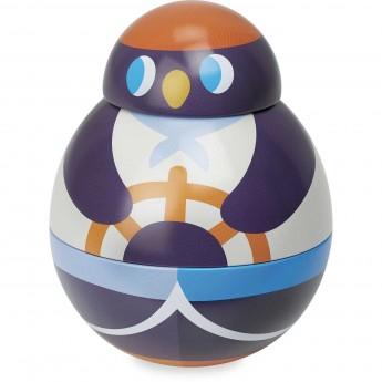 Vilac kiwaczek metalowy Pingwin zabawka metalowa zręcznościowa +18m