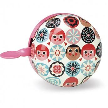 Vilac dzwonek rowerowy dla dzieci różowy by Ingela P. Arrhenius
