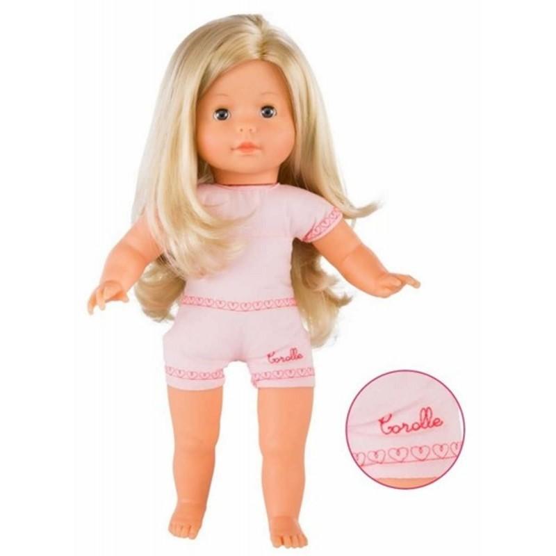 Lalka dla dzieci Vanilla Blonde Blue Eyes 36cm z długimi włosami, Corolle