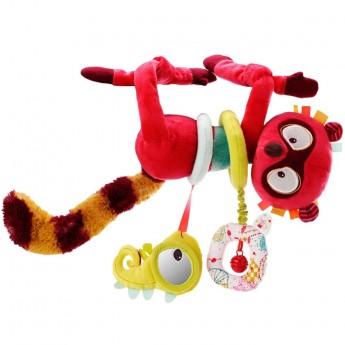 Lilliputiens Zawieszka do fotelika dla niemowląt Lemur Georges
