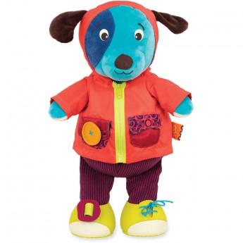 B.Toys Edukacyjny piesek do nauki ubierania się Woofy