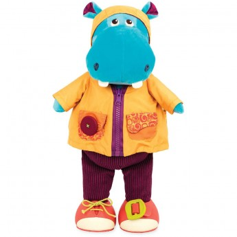 B.Toys Edukacyjne hipcio do nauki ubierania się Hank