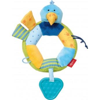 Zabawka sensoryczna Ptak dla niemowląt PlayQ, Sigikid