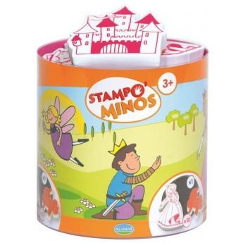 Aladine Stempelki piankowe dla dzieci od 3 lat Baśnie