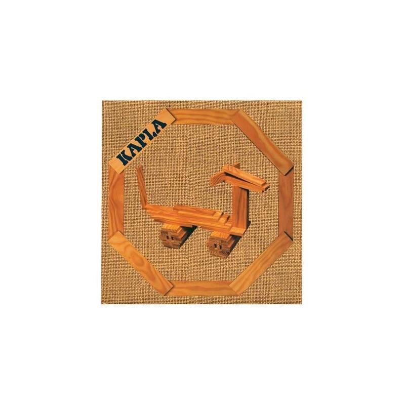 Książka nr 4 zwierzęta budowle dla 4-latków, Kapla