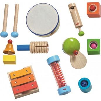 Duży zestaw instrumentów muzycznych dla 2 latka, Haba