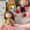 Haba lalka szmaciana Coco 30cm dla dzieci od 18 mc