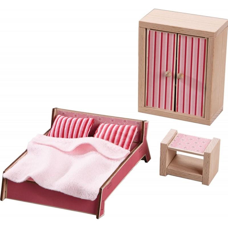 Sypialnia Little Friends do domków dla lalek, Haba