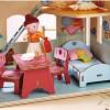 Zestaw mebli podstawowych Little Friends do domków dla lalek, Haba