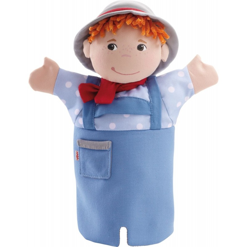 Haba pacynka na rękę Jaś zabawka dla dzieci od 18mc
