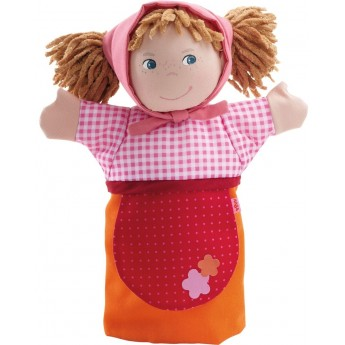 Haba pacynka na rękę Małgosia zabawka dla dzieci od 18mc
