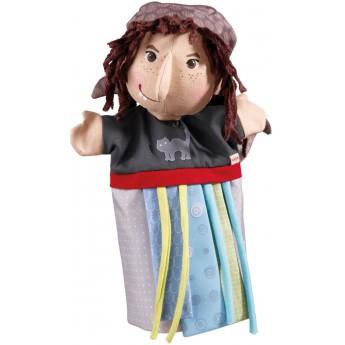 Haba pacynka na rękę Baba Jaga zabawka dla dzieci +18mc