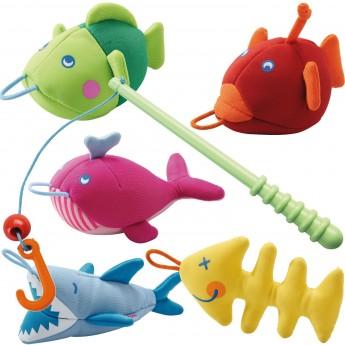 Łowienie rybek zabawka do kąpieli Wodni przyjaciele, Haba