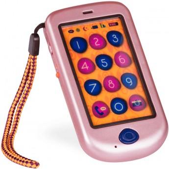 B.Toys Telefon zabawka +18mc Hi!! Phone różowy