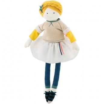 Lalka szmaciana Louison 39 cm dla dzieci od 12 mc, Moulin Roty