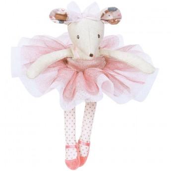 Myszka Balerina zabawka prezent na roczek, Moulin Roty