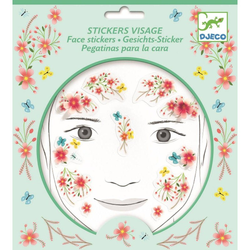 Djeco naklejki na twarz Wiosenna Wróżka