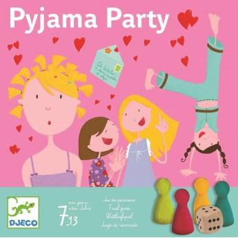 Djeco Gra towarzyska Piżama Party dla dzieci od 7 lat