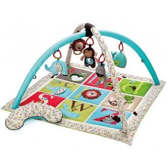 Skip Hop mata edukacyjna Alfabet z pałąkiem i zabawkami