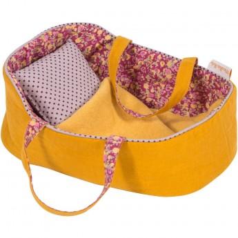 Koszyk dla lalek z pościelą 29 cm dla dzieci +12m, Moulin Roty