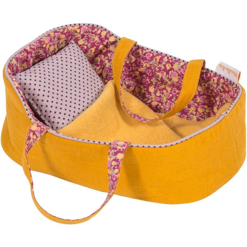Koszyk dla lalek z pościelą średni, Moulin Roty