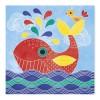 Janod Zestaw artystyczny Magiczne farby Podwodny Świat +4