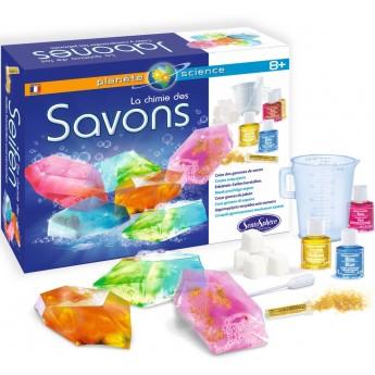 Zestaw naukowy do robienia mydełek dla dzieci +8, SentoSphere