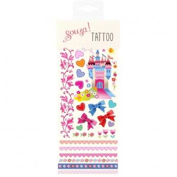 Tatuaże zmywalne dla dzieci Zamek, Souza!