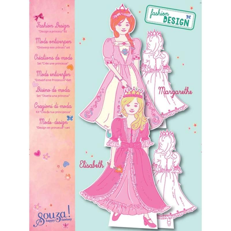 Papierowe lalki do ubierania Księżniczki, Souza!