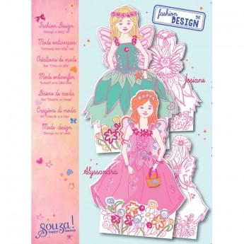 Papierowe lalki do ubierania Wróżki zabawka plastyczna, Souza!