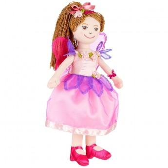 Lalka szmaciana Alyssandra 30cm dla dzieci od 3 lat, Souza!