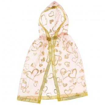 Złoty płaszcz dla lalek 30cm Ellena, Souza!