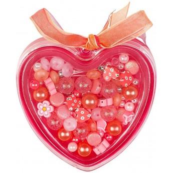 Zestaw do robienia naszyjnika i bransoletki Pink&Orange, Souza!